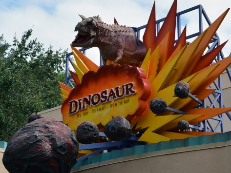 Walt Disney World, Animal Kingdom, Christmas 2013, Dinosaur