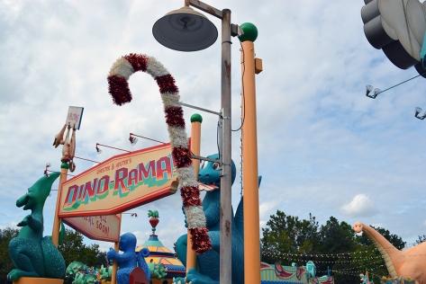 Walt Disney World, Animal Kingdom, Christmas 2013, Dinoland