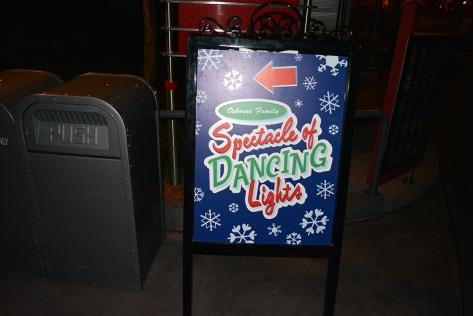 Walt Disney World, Hollywood Studios, Osborne Family Spectacle of Dancing Lights, Christmas Lights