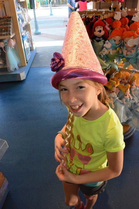 Rapunzel hat