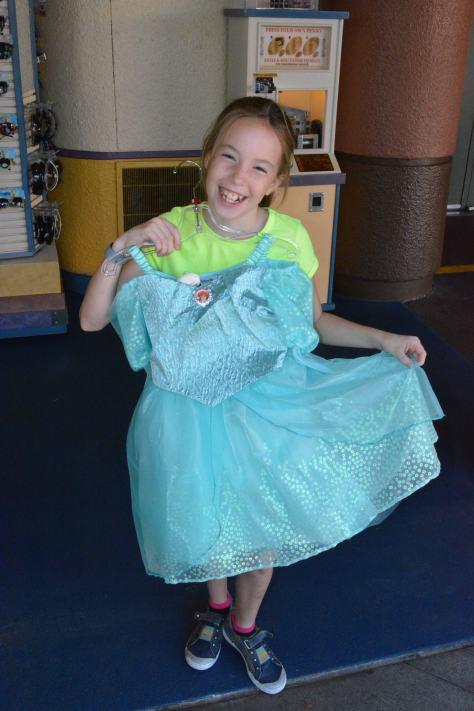 Ariel formal dress