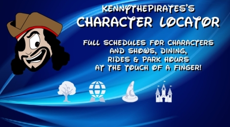 walt disney world character schedule, walt disney world app, walt disney world show schedules