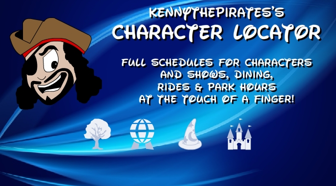 Best Disney World Apps, Great Disney World Apps, Character Locator, Best App for visiting Walt Disney World