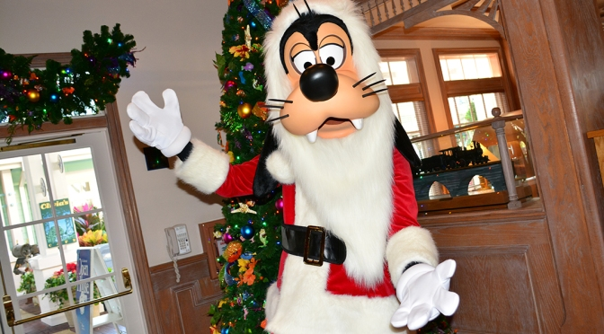 OLD KEY WEST RESORT CHRISTMAS CHARACTER SANTA GOOFY AND CHRISTMAS DECOR