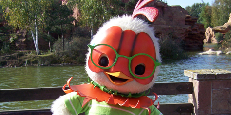 Worldwide Wednesdays:  Chicken Little at Disneyland Paris