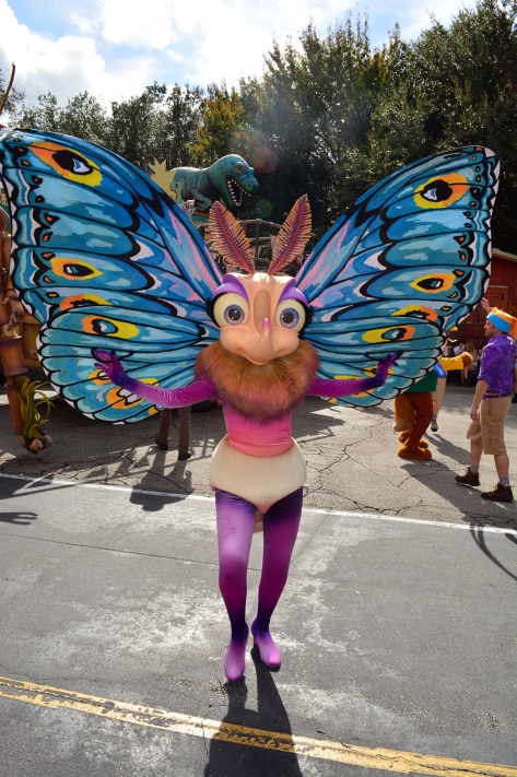 Walt Disney World, Disney's Animal Kingdom, Dinoland Dance Party, Slim, Gypsy,