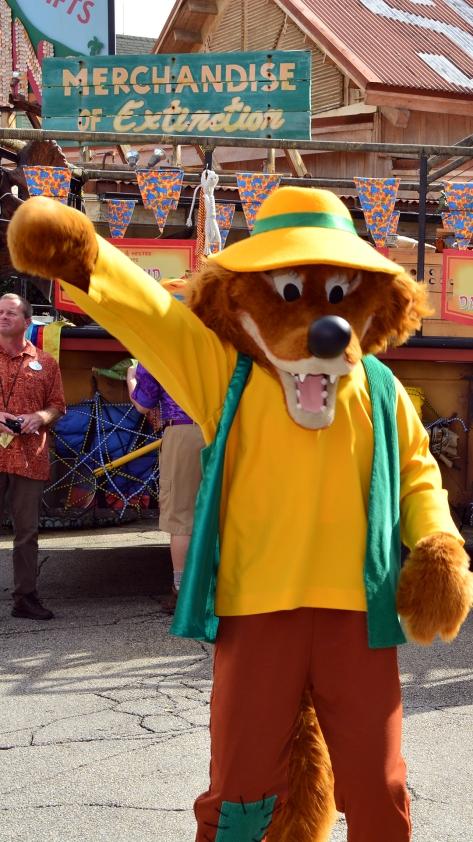 Walt Disney World, Disney's Animal Kingdom, Dinoland Dance Party, Brer Fox
