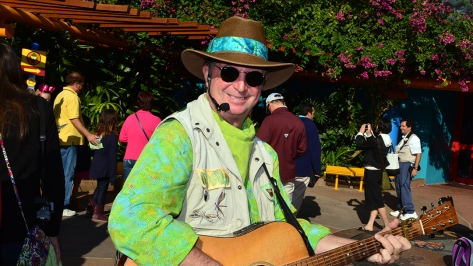 Walt Disney World, Animal Kingdom,  Character Changes,  January 2014, GiTar Dan
