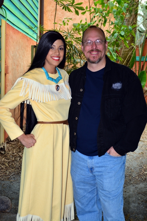 Walt Disney World, Animal Kingdom,  Character Changes,  January 2014, Pocahontas