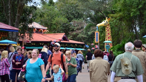 Walt Disney World, Animal Kingdom,  Character Changes,  January 2014,