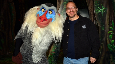 Walt Disney World, Animal Kingdom,  Character Changes,  January 2014, Rafiki