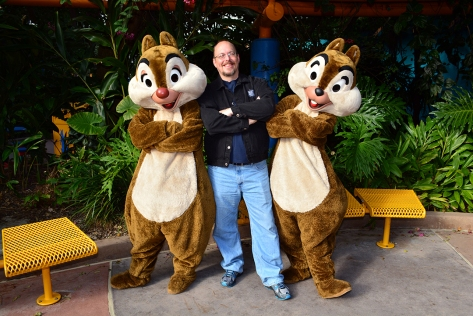 Walt Disney World, Animal Kingdom,  Character Changes,  January 2014, Chip n Dale