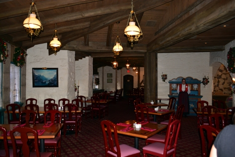 Walt Disney World, Epcot, Akershus Royal Banquet Hall, Princess Character Meal