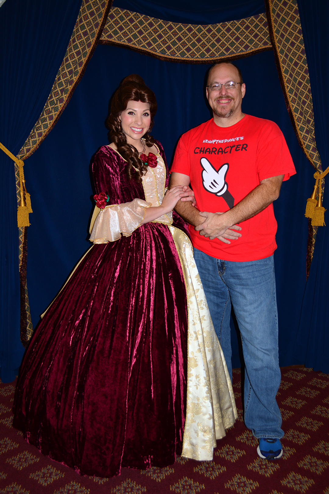 Belle Disney Blue Dress I located belle usingDisney World Belle 2014
