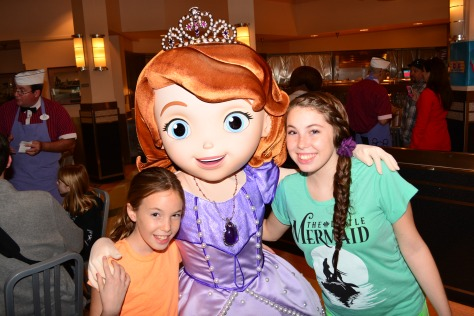 Walt Disney World, Hollywood and Vine, Character Meal, Sofia the First