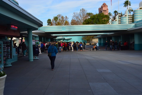 Walt Disney World, Hollywood Studios, rope drop