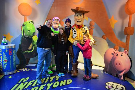 Walt Disney World, Hollywood Studios, Buzz Lightyear and Woody, Meet and Greet
