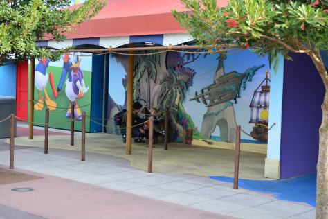 Walt Disney World, Hollywood Studios, jake and the Neverland Pirates, Meet and Greet