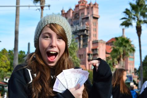 Walt Disney World, Hollywood Studios, Tower of Terror, Fastpass