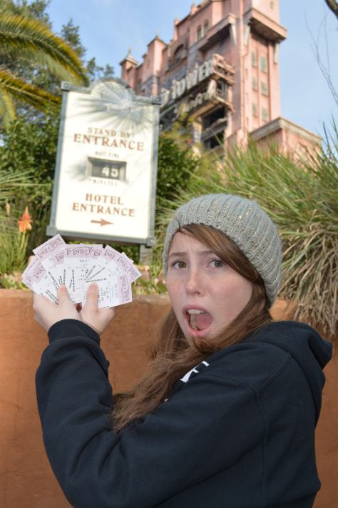 Walt Disney World, Hollywood Studios, Tower of Terror Fastpass