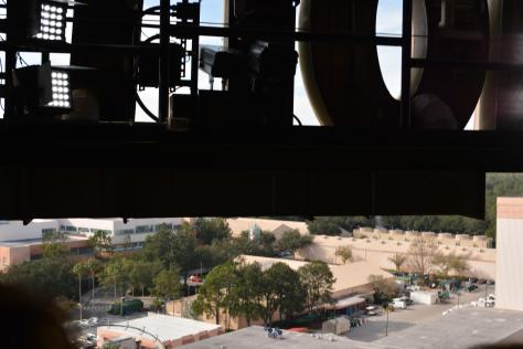 Walt Disney World, Hollywood Studios, Tower of Terror view