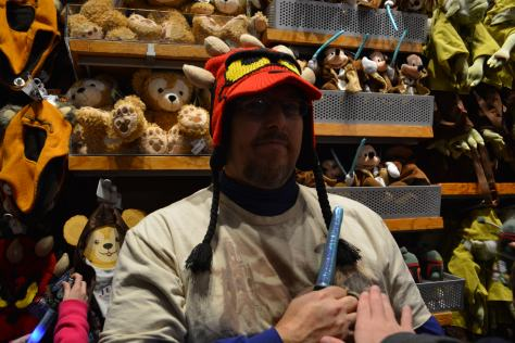 Walt Disney World, Hollywood Studios, darth donald hat