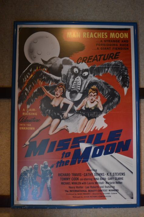 Walt Disney World, Hollywood Studios, Sci Fi Dine In Theater, Missile to the Moon poster