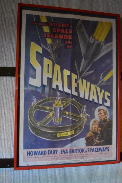 Walt Disney World, Hollywood Studios, Sci Fi Dine In Theater, Spaceways poster