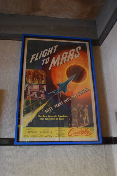 Walt Disney World, Hollywood Studios, Sci Fi Dine In Theater, Flight to Mars poster