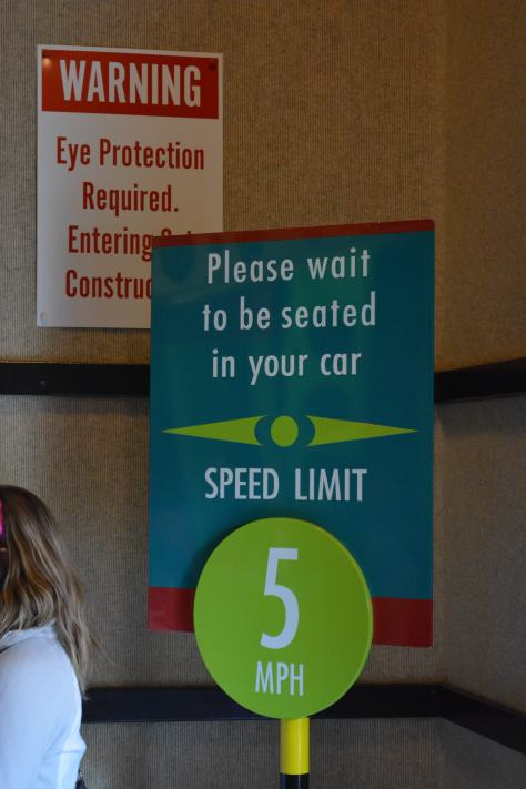Walt Disney World, Hollywood Studios, Sci Fi Dine In Theater, speed limit sign