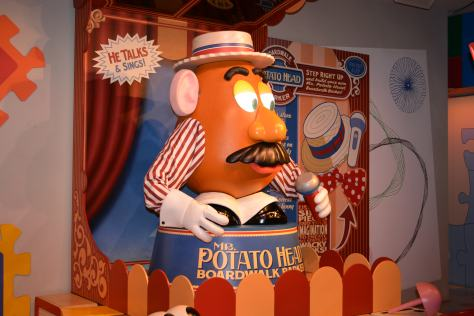 Walt Disney World, Hollywood Studios, Toy Story Midway Mania, Mr. Potatohead
