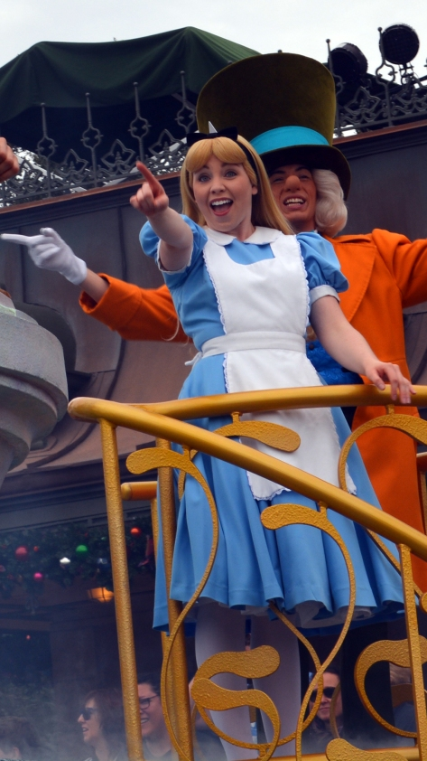 Walt Disney World, Magic Kingdom, Celebrate a Dream Come True Parade, Alice in Wonderland, Mad Hatter