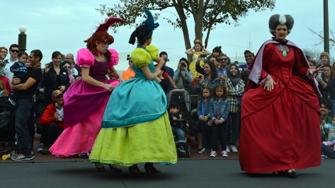 Walt Disney World, Magic Kingdom, Celebrate a Dream Come True Parade, Tremaine Family