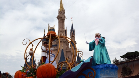 Walt Disney World, Magic Kingdom, Celebrate a Dream Come True Parade, Fairy Godmother