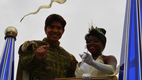 Walt Disney World, Magic Kingdom, Celebrate a Dream Come True Parade, Naveen, Tiana