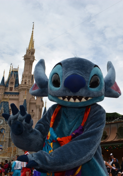 Walt Disney World, Magic Kingdom, Celebrate a Dream Come True Parade, Stitch