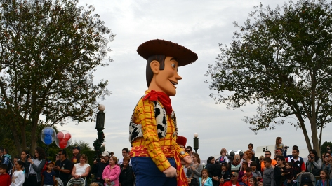 Walt Disney World, Magic Kingdom, Celebrate a Dream Come True Parade, Woody
