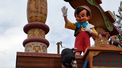Walt Disney World, Magic Kingdom, Celebrate a Dream Come True Parade, Pinocchio