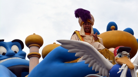 Walt Disney World, Magic Kingdom, Celebrate a Dream Come True Parade, Aladdin