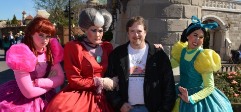 Walt Disney World, Magic Kingdom, Fantasyland, Anastasia Drizella Lady Tremaine, Cinderella Step Sisters, Meet and Greet