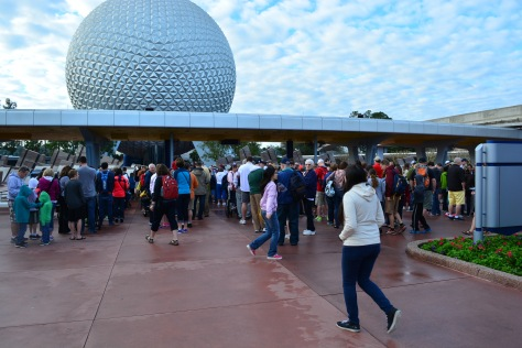 Walt Disney World, Epcot, rope drop