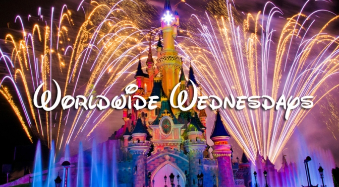 Worldwide Wednesday – Gus, Jaq, Suzy, Perla, Lady Tremaine, Anastasia, Drizella, Cinderella and Prince Charming