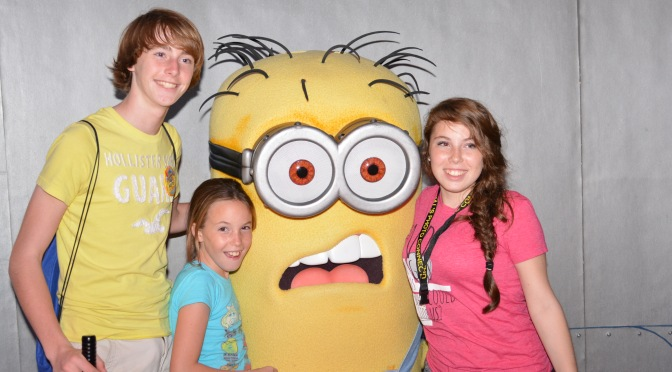 Minion Bob at Universal Studios Florida