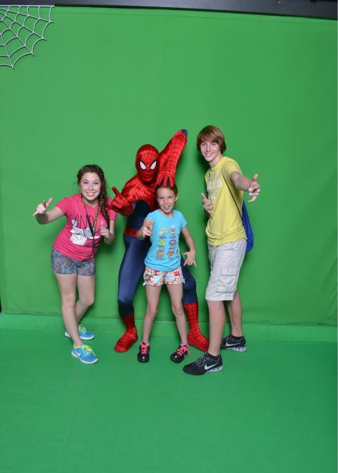 Universal Orlando, Universal Studios Florida, Spiderman, meet and greet