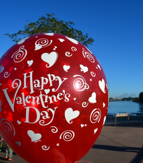 Walt Disney World, Magic Kingdom, Valentines Day