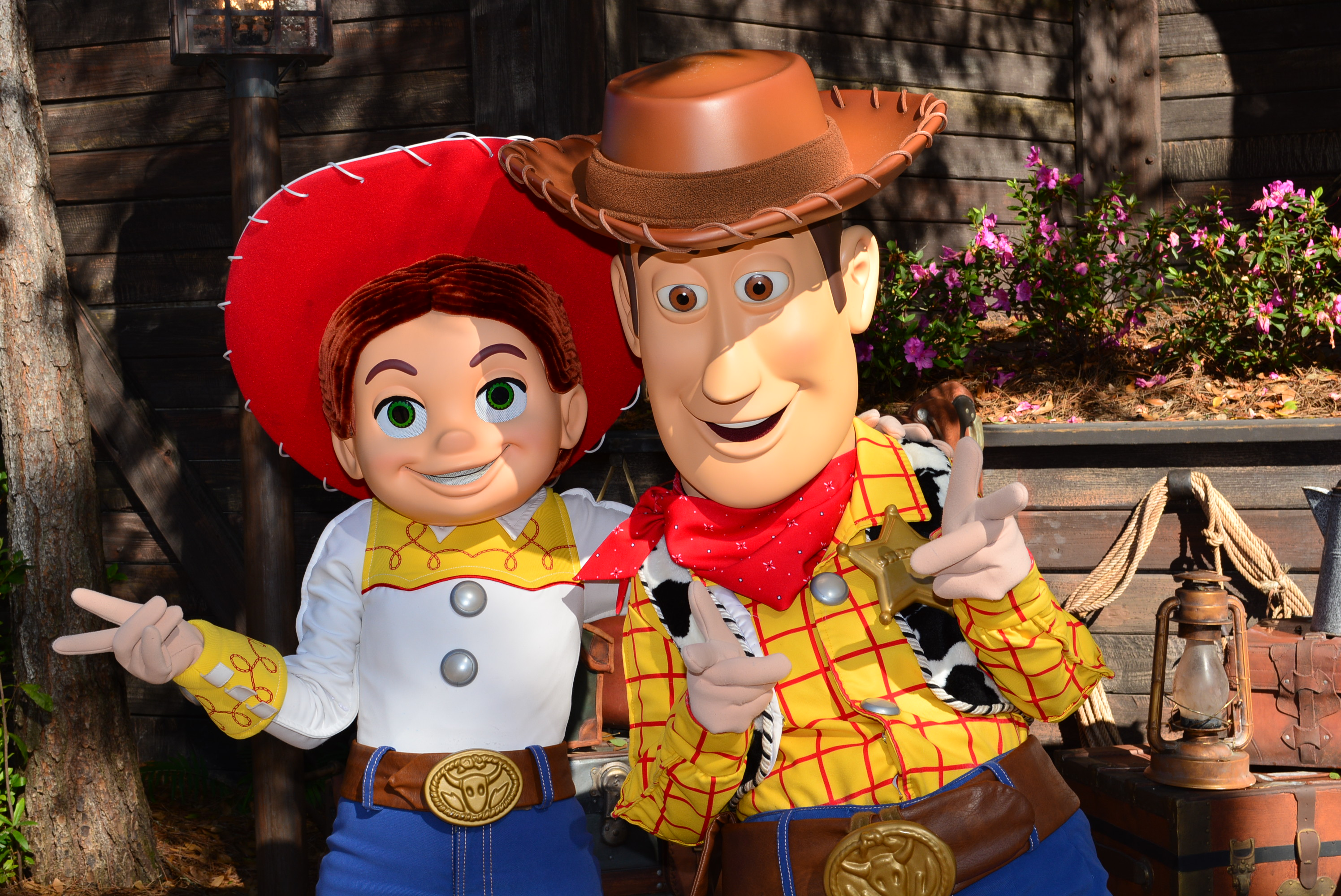 Walt Disney World Magic Kingdom Woody And Jessie