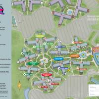 All Star Music Resort Map