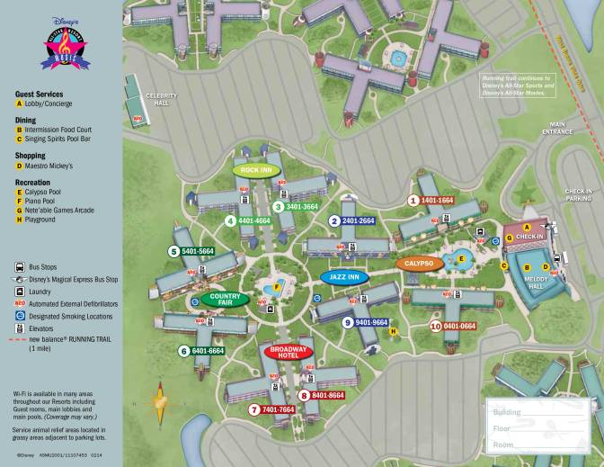 All-Star-Music-Resort-Map