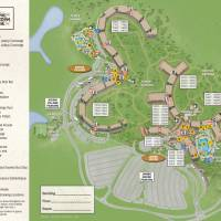 Animal Kindom Lodge Jambo House Resort Map