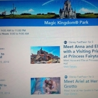 Book those Fastpass+ for Anna and Elsa at the Magic Kingdom now!